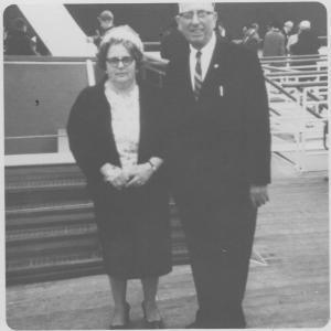 My paternal grandparents, Mario and Jennie.